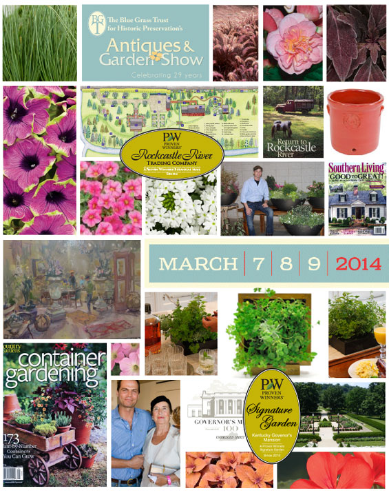March 7 9 2014 The 2014 Blue Grass Trust Antiques Garden Show Lexington Ky Jon