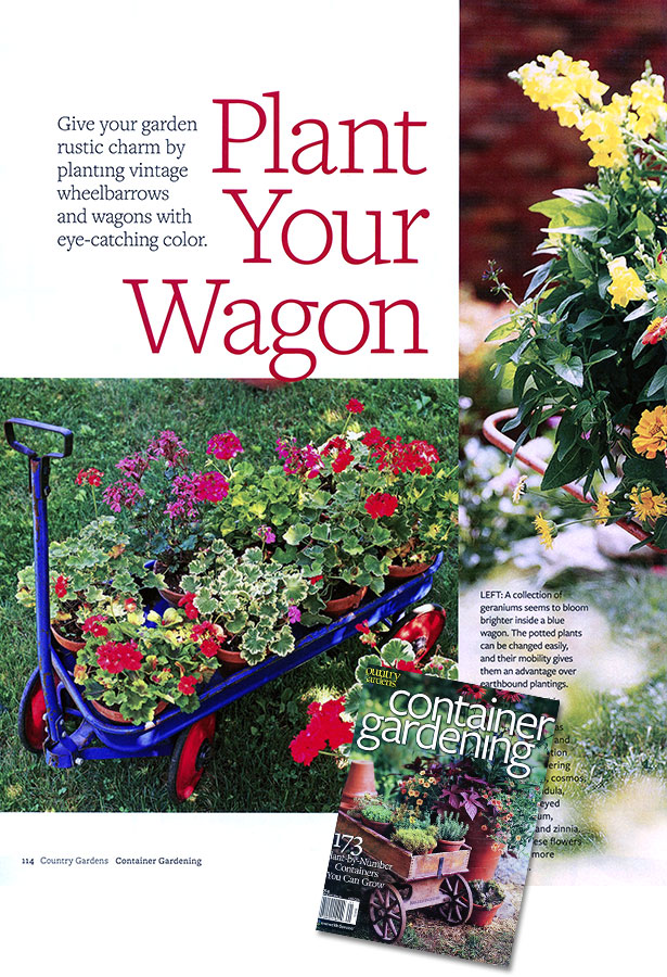 "ON NEWS STANDS NOW: Country Gardens Magazine article on ""Plant Your ..."