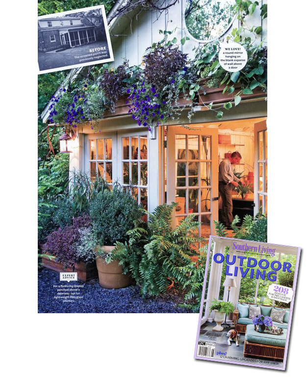 ON NEWS STANDS NOW: Southern Living Special Collector's ... on Southern Outdoor Living id=18096