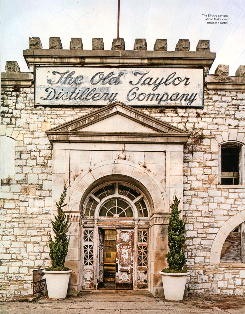 Old Taylor Distillery Named Top 50 Coolest Places To Visit In The United  States!