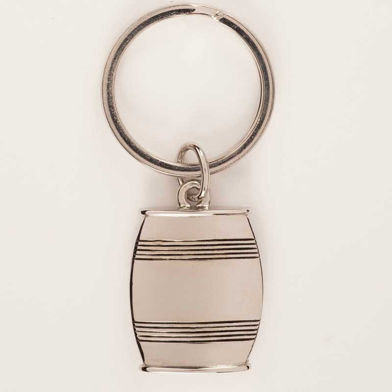 Asa Pewter Barrel Key Ring