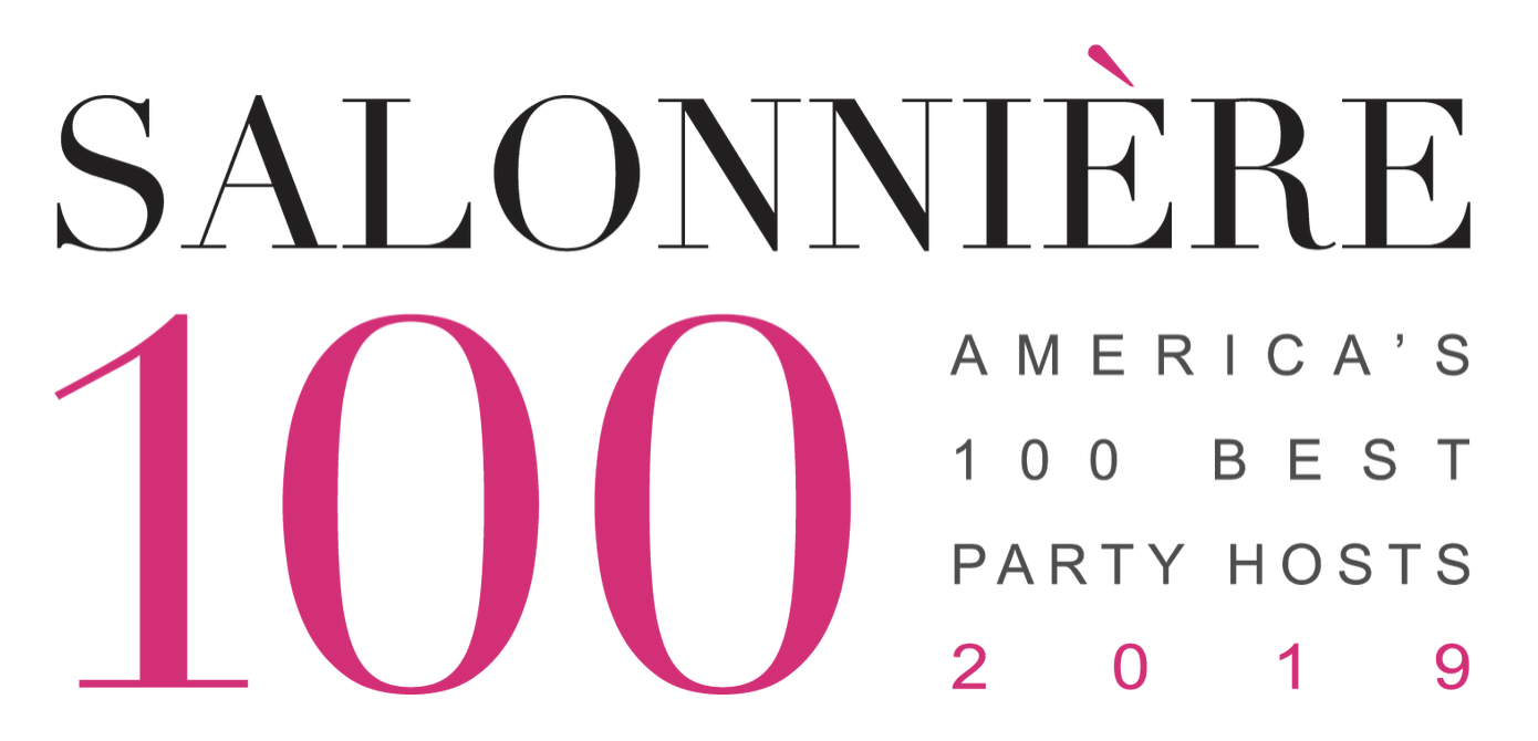 Third Year In A Row! The 2019 Salonniere 100: America's Best Party Hosts