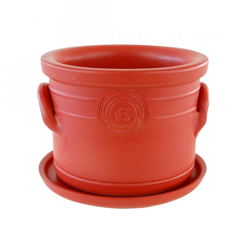 Louisville Pottery Planter – Red